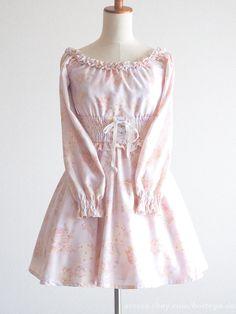 LIZ LISA 15th Anniversary Alice in Wonderland Off-shoulder OP Dress Lolita Japan #LIZLISA #Peplum #Party