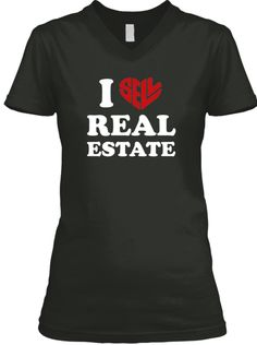294ac0199 Last Day To Purchase This T Shirt! Black T-Shirt Front Real Estate Slogans