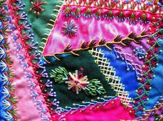 Victorian Crazy Quilt Patterns | ... ? Can you share instructions or a pattern with the Craftsy community