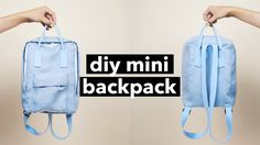 I've been seeing this backpack pop up everywhere, it's so cute and there are so many colours! Here's how to make your own!