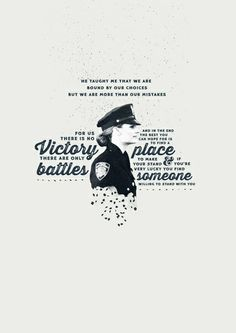 Kate Beckett for Captain Montgomery after he gave his life for her... Get tears watching this episode