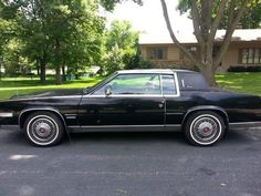 1981 Cadillac Eldorado Biarritz -1981 Cadillac Eldorado Biarritz, coup, front wheel drive Color: Black Condition: Very Good Mileage: 45,455 VIN# 1G6AL5792BE626462 Transmission/Engine: 6.0L V8 4BL Interior color: red Other: 2dr Coupe 8-cyl. 350cid/105hp FI Vehicle was collector car for years, kept in storage during the winters and driven minimally. - See more at: http://www.cacars.com/Car//Cadillac/Eldorado/Biarritz/1981_Cadillac_Eldorado_for_sale_1002478.html