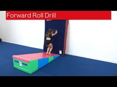 Beginners Forward Roll Drill Most beginners working on forward rolls struggle to stand up at the end without using their hands. Giving them a visual to reach. Toddler Gymnastics, Gymnastics At Home, Gymnastics Lessons, Gymnastics Academy, Gymnastics Routines, Preschool Gymnastics, Gymnastics Floor, Tumbling Gymnastics, Gymnastics Coaching