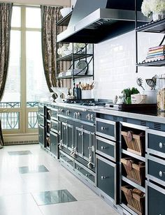 Expensive Eye Candy: La Cornue Ranges Kitchen Inspiration | The Kitchn