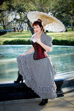 Steampunk Bride at Kempner Park