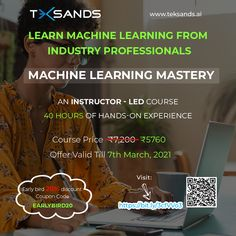 Ever wanted to predict your sales forecasts or any other quantitative forecasts in a more intelligent manner with Machine Learning using historical data? You need to learn Regression Modelling. Teksands brings you a Best Online Course for Machine Learning that helps you create intelligent forecast models. Machine Learning Course, Best Online Courses, Use Case, Learning Resources, Train, Models, Create, Templates, Strollers