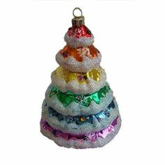d589634e50 Rainbow Christmas Tree ornament for Holiday gay pride. Available at  http   overtherainbowshop
