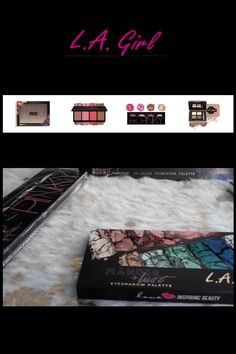 Look at these amazing Makeup Palettes from LA Girl at LoveMy Makeup NZ Makeup Cosmetics, Beauty Makeup, Makeup Looks, Rimmel, Maybelline, Online Makeup Stores, Girls Makeup, Makeup Palette, Make Up Looks