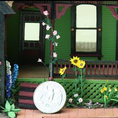 Making Detailed Miniature Plants for 1:48 Scale Dollhouses and Railroad Scenes