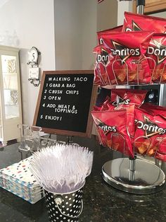 Graduation Party Inspiration Featuring a Soda Bar! | Less Than Perfect Life of Bliss | home, diy, travel, parties, family, faith