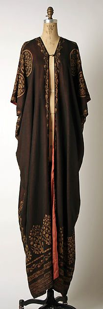 Ensemble (image 3) | Mariano Fortuny | Italian | 1920 | silk, cotton, glass | Metropolitan Museum of Art | Accession Number: 1984.609a, b