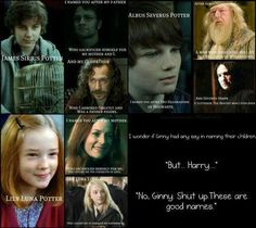 HP kids names