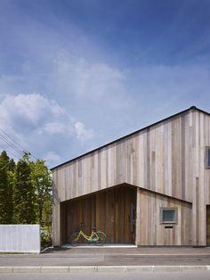 House K by Yoshichika Takagi + Sekkei-Sha I'm not entirely sure that something like this is feasible.
