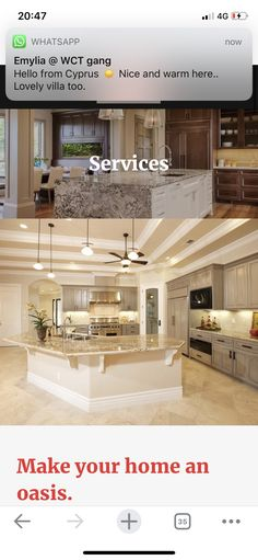 Oasis, Kitchens, Villa, Warm, Make It Yourself, Mansions, House Styles, Home Decor, Decoration Home