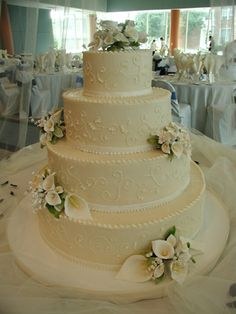 wedding cakes pictures non fondant | Non-fondant wedding cakes