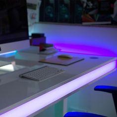 Trend Der LED Schreibtisch Tableair dient als innovative Einrichtung f r das B ro dank App Read more