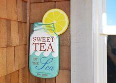 At Seabrook: ( The Ea, Beach House Signs, Arizona Tea, Sweet Tea, Drinking Tea, Twitter, Design, Iced Tea