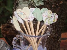 cup cake toppers wedding-cake-ideas