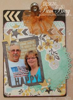 Scrapbook Flair: Altered Clipboard with Craftwell Cut N' Boss