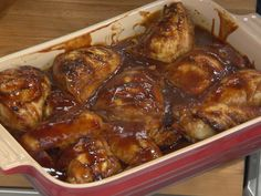 Baked BBQ Chicken Recipe : Katie Lee : Food Network - FoodNetwork.com