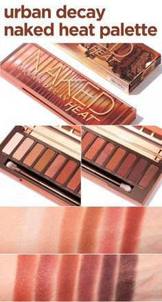 Review of the NEW Urban Decay Naked Heat Palette! - 12 brand new amber-hued neutrals for a fired up makeup look. So HOT!