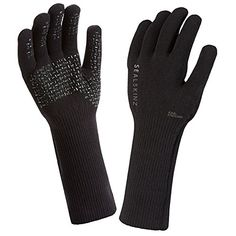 SealSkinz Ultra Grip Gauntlet-Black, Large