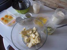 Domowe ciasta i obiady: Cytrynowa babka puchowa Meat, Chicken, Food, Essen, Meals, Yemek, Eten, Cubs