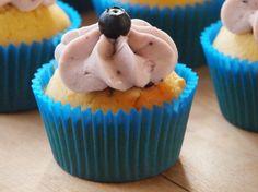very blueberry vanillacupcakes