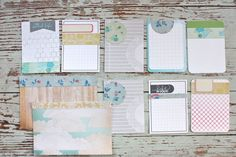 Mish Mash: Altered Project Life journaling cards...