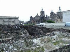 El Templo Mayor | El Zocalo in Mexico City | www.bayessence.com