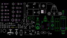 Bloques AutoCAD Gratis - Librerias de tornillería y mecánica industrial