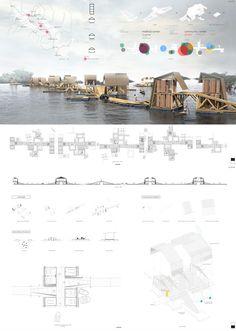 Floating Architecture, Tonle Sap, Uni, Competition, Photo Wall, Magazine, Future, Frame, Shopping