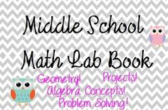 Middle School Math Lab Book