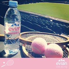 evian & Wimbledon - gute Kombination! #wimbledon #sports