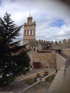 En la muralla de Avila