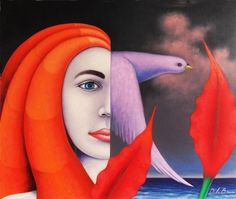 Jose De la Barra 1956 | Peruvian Symbolist painter