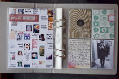 Tina Aszmus - love the idea for a page of current pins.