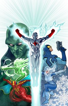 #Justice #League #Of #America #Fan #Art. (Convergence: Justice League International #1 Cover) By: Paul Renaud. (THE * 5 * STÅR * ÅWARD * OF * MAJOR ÅWESOMENESS!!!™)