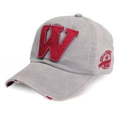 d05f91442e5 Hot Fashion Baseball Caps Summer  Autumn Casual Sports Caps Fashion Hats  Women And Men Letter W Printed Snapback Hip-pop Adjustable Hats