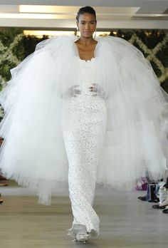 Oscar de la Renta. I would do this. I would also like to 110 lbs like I was at my wedding 24 years ago...