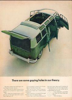 1964 Volkswagen Station Wagon Advertisement Time Magazine October 2 1964 | Flickr - Photo Sharing!