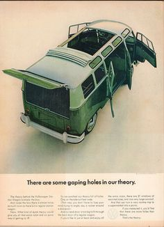 1964 Volkswagen Station Wagon Advertisement Time Magazine October 2 1964 | Flickr - Photo Sharing!