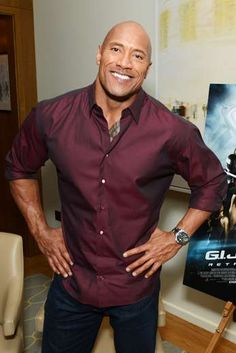 Que sonrisa mas espectacular, love Dwayne Johnson