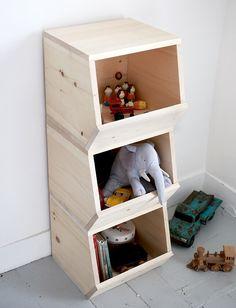 Inspiration // 12 Einfach DIY Ideen Aus Holz Fürs Kinderzimmer Und Den Rest  Der