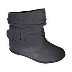 Toddler Girl's Circo® Jayda Boot - Grey $24.99