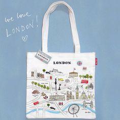 'Map of London' Bag