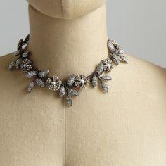 Astolfo Venetian Beaded Flower Necklace