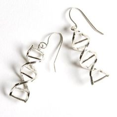 DNA earrings..the nerd in me loves these!