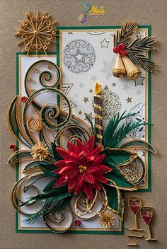 Neli Quilling Art: Preparation for Christmas _ # 6 / 2015 /                                                                                                                                                                                 More