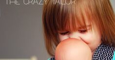 Ginger Snap Crafts: Toddler Baby Doll Carrier from The Crazy Tailor {contributor} Sewing Doll Clothes, American Doll Clothes, Sewing Dolls, Doll Clothes Patterns, Diy Doll Carrier, Baby Dolls For Toddlers, Baby Doll Bed, Ginger Snaps, Baby Crafts